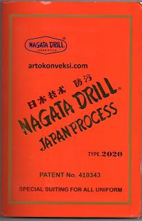 bahan kain nagata drill