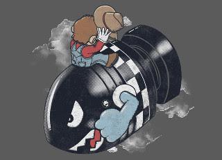 Mario Bomb Gaming T-Shirt