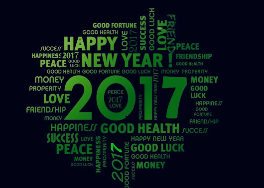 May You have New Hopes, Aspirations and Resolutions for 2017...