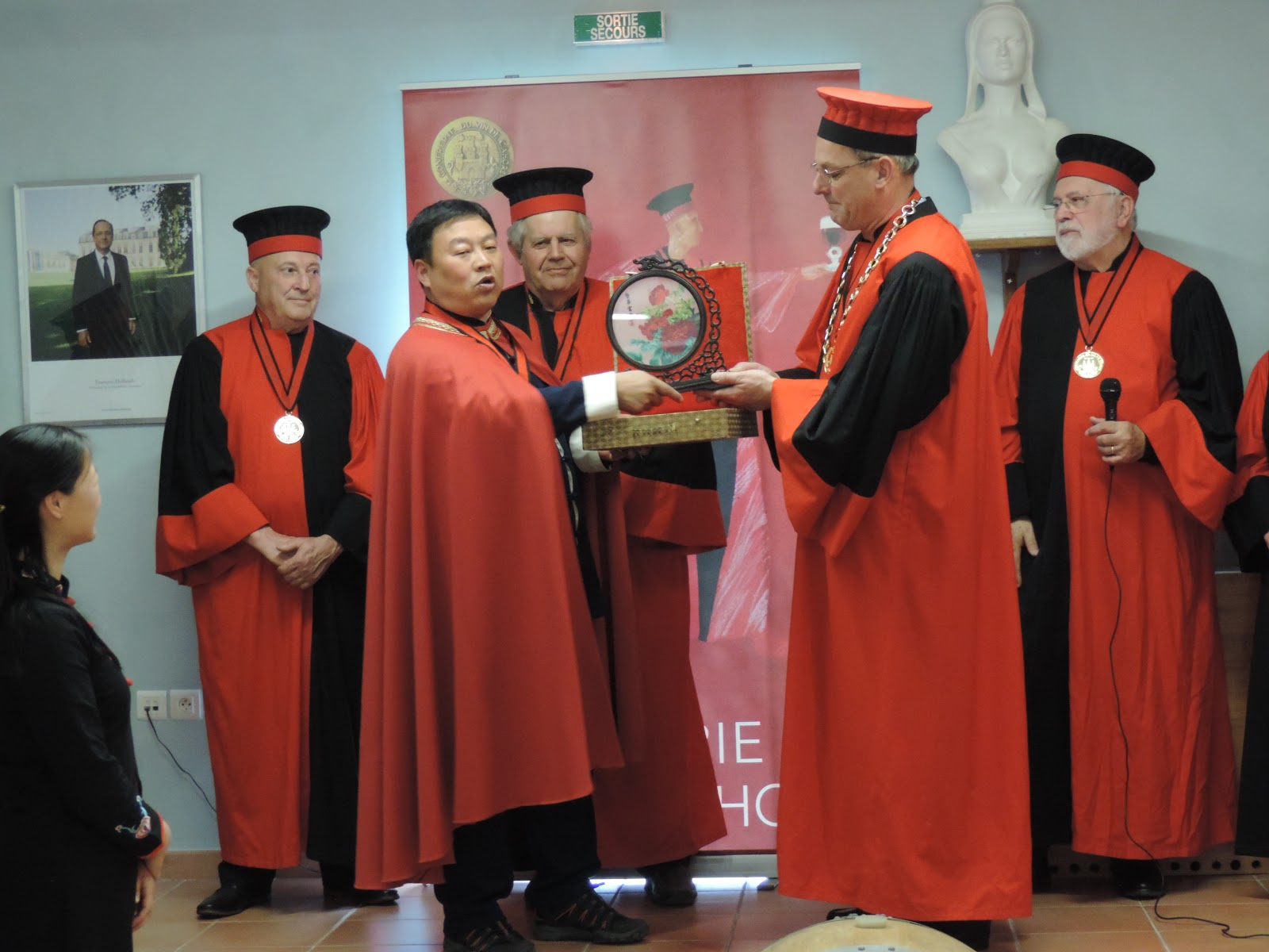 Confr rie du vin de cahors mars 2017 for Maitre art martiaux chinois