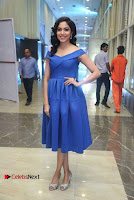 Actress Ritu Varma Pos in Blue Short Dress at Keshava Telugu Movie Audio Launch .COM 0046.jpg