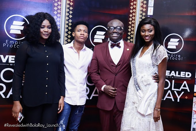 Photos: Season 3 of Revealed with Bola Ray launched in Accra