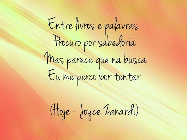 Música - Hoje Joyce Zanardi