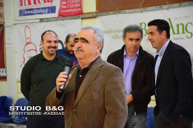 Ο Δημήτρης Αγγελόπουλος στη θέση του ταμία της Ελληνικής Ομοσπονδίας Καλαθοσφαίρισης