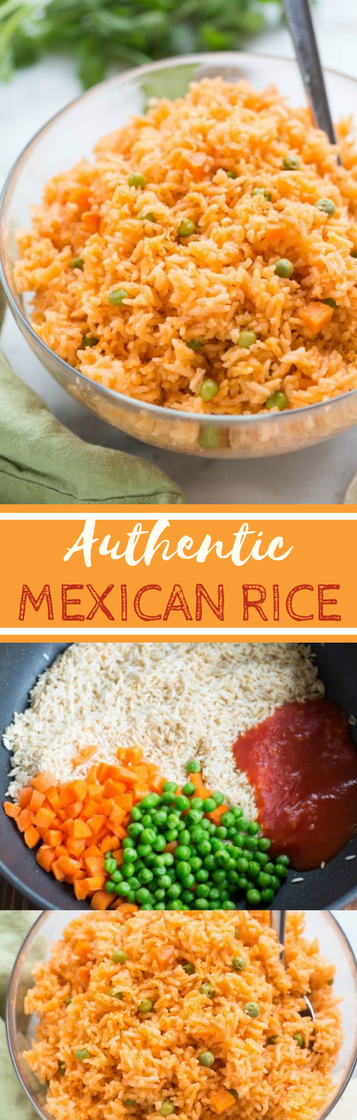 Authentic Mexican Rice #vegetarian #sidedish