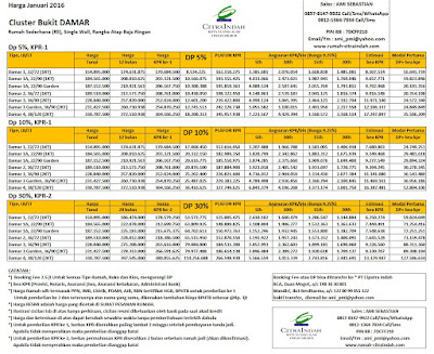 harga-bukit-damar-citra-indah-city-januari-2016