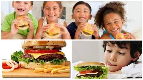 ¿Por qué son tan adictivas para los niños las hamburguesas?