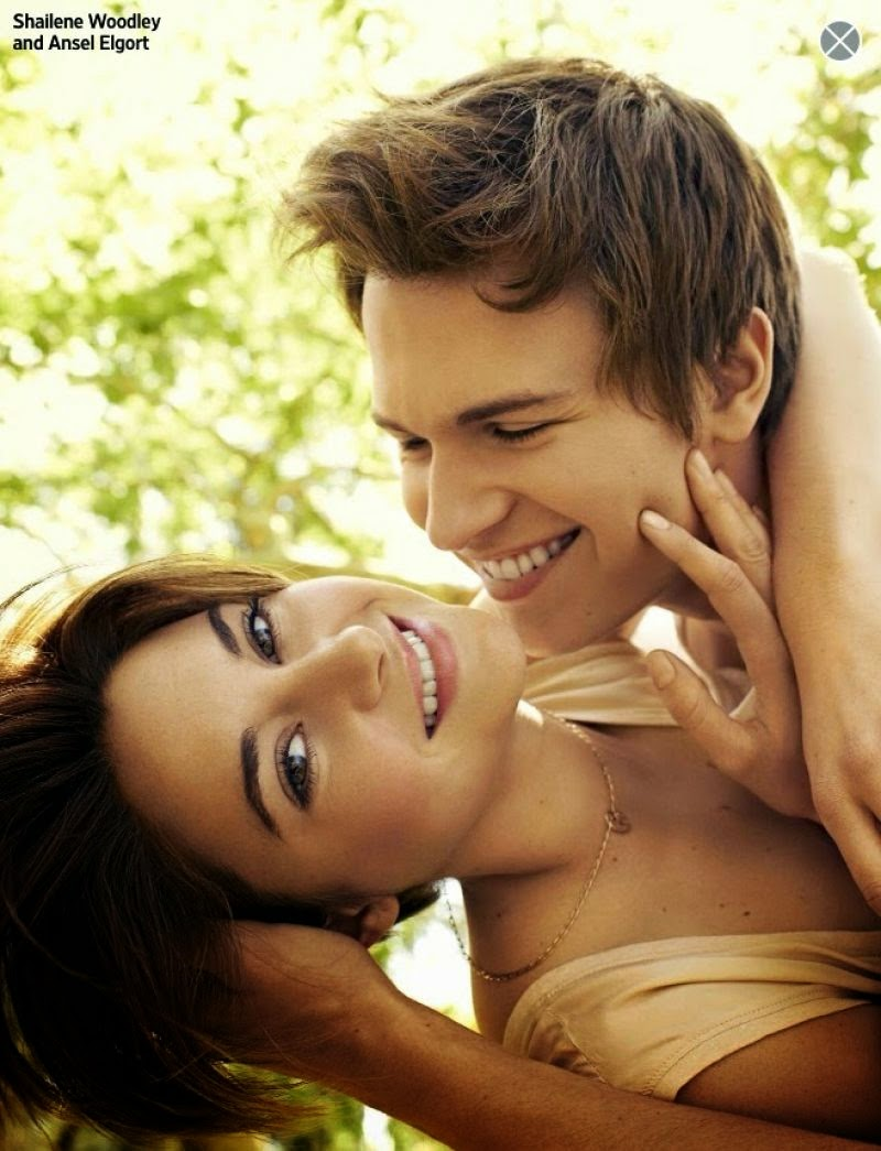 Shailene Woodley and Ansel Elgort