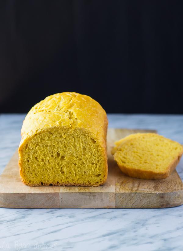 Pan de molde de calabaza #vegano #sinhuevo #sinlacteos