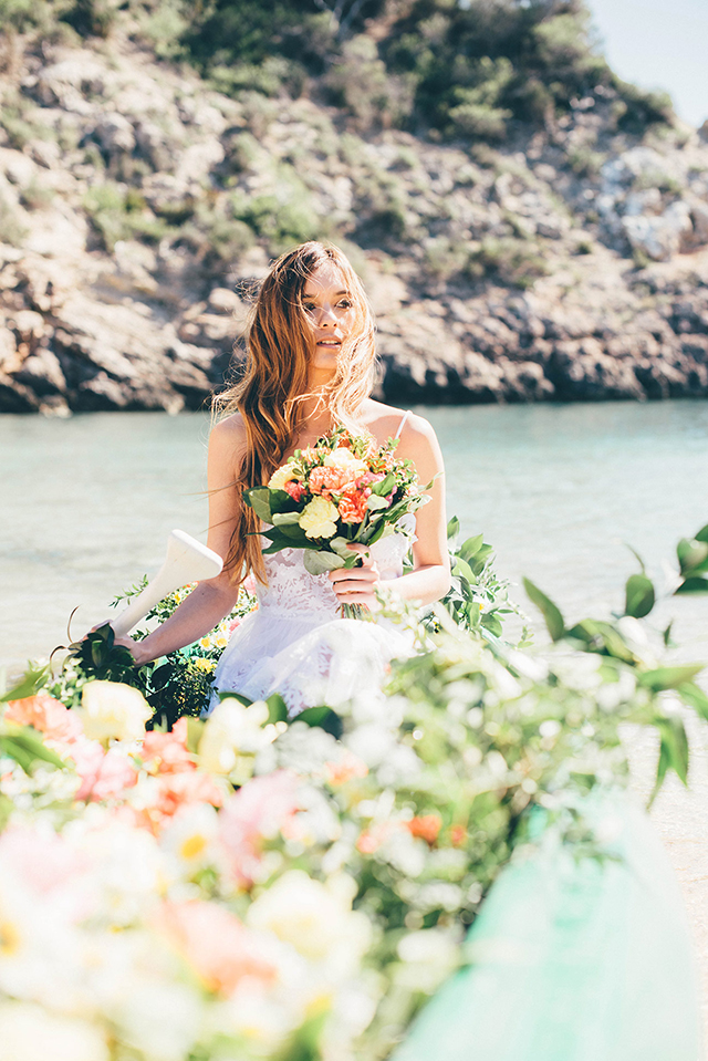 loversloveloving novia vestido boho bohemia chic playa blog bodas