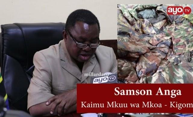 Sare Feki za Jeshi Zakamatwa Kambi ya Wakimbizi Kibondo.
