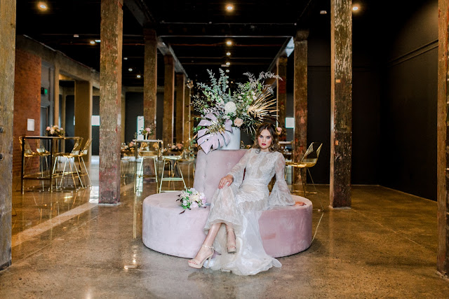 CHIC WAREHOUSE WEDDING VENUE WOOLLOONGABBA PHOTOGRAPHY CATERING KATE ROBINSON PHOTOGRAPHY