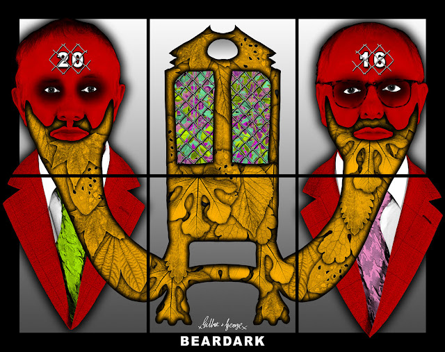 Gilbert & George, Beard Mark, contemporary art