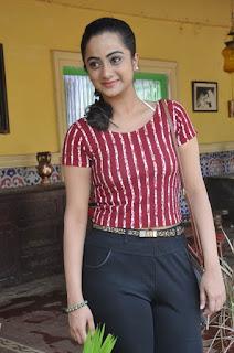 Actress Namitha Pramod Stills on talabbayi sets  0014.jpg