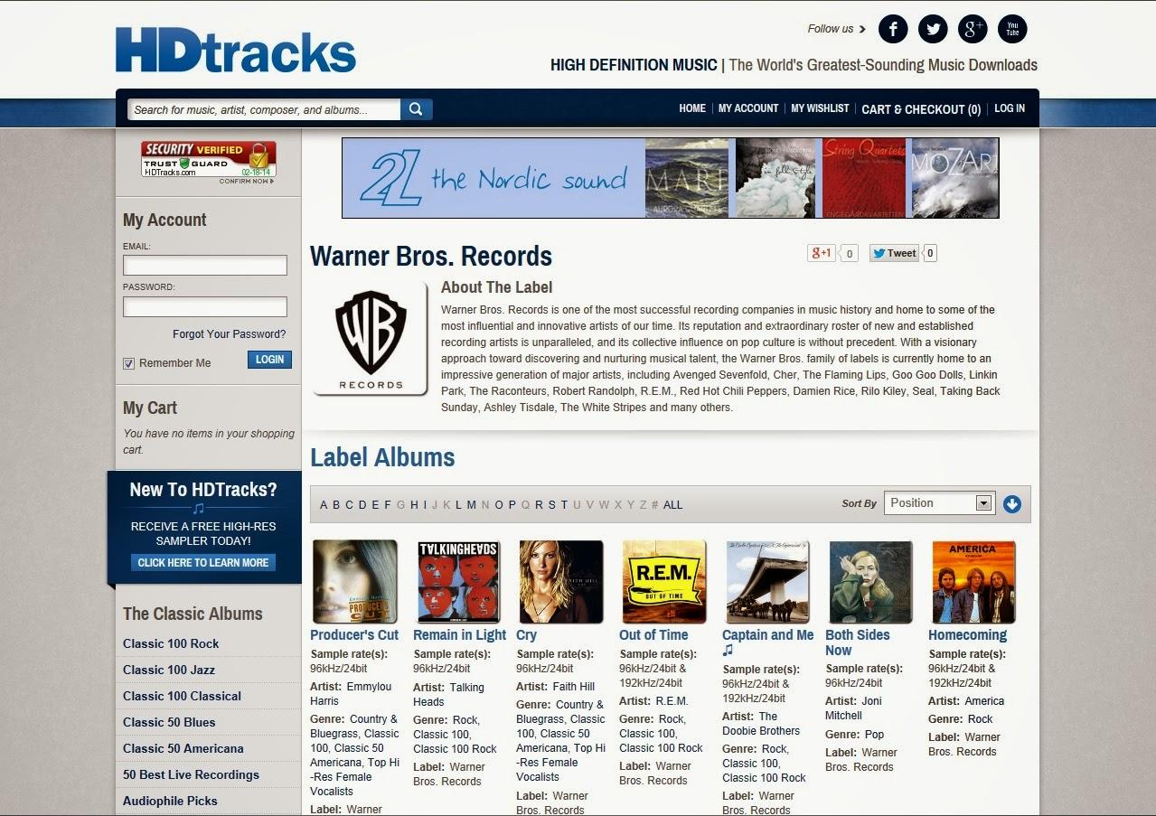 Musica & Memoria - Tecnologia & Mercato: Il download in alta