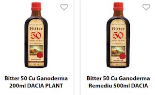 Cumpara de aici Bitter suedez 50  cu Ganoderma livrare in Romania