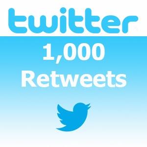 Get 1000 Twitter Retweets