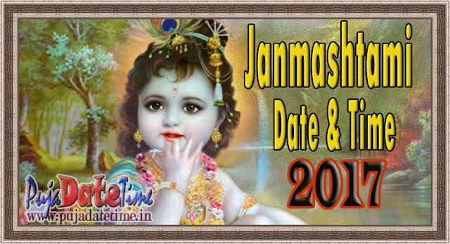 2017 Krishna Janmashtami Date & Time