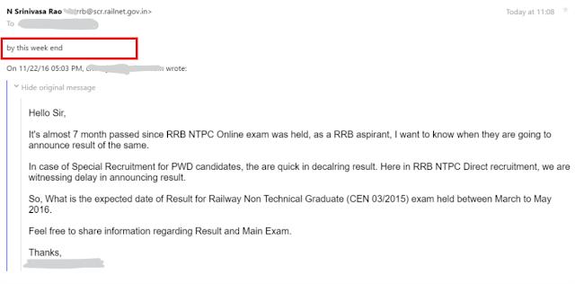 RRB NTPC Result, Railway NTPC Result, Railway Exam Result, RRB NTPC 03/2015 Result, RRB ASM, Goods Guard Result