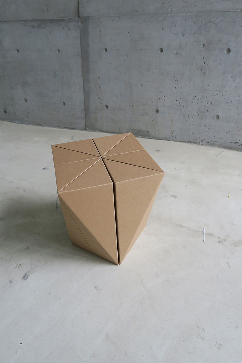 A Stool Made Out Of Cardboard By Taipei Based Design Studio MisoSoupDesign.  Spiral Stool Was Developed With The Idea Of Creating A Structural Module  That ...