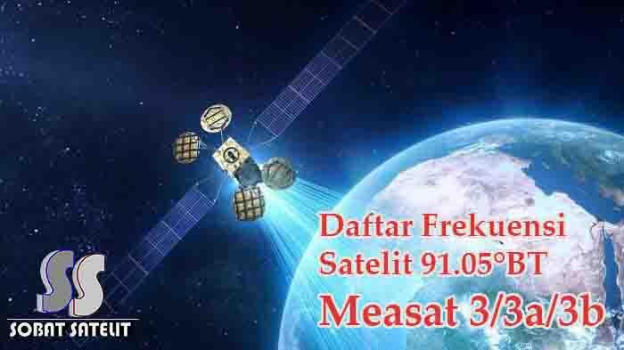 Frekuensi Measat 3 3a 3b Lengkap Terbaru - Sobat Satelit