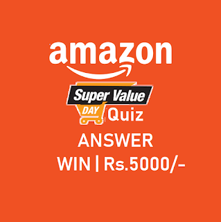 all answers of amazon super value day quiz, answers are updated today