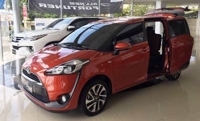 Mobil Baru Toyota Sienta 2018