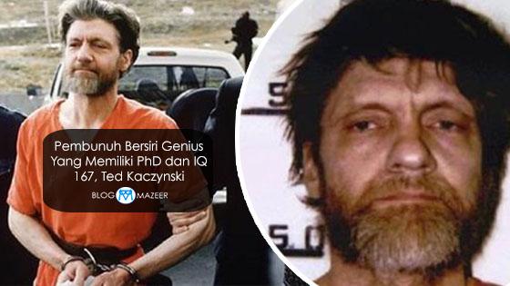 Inilah Pembunuh Bersiri Genius Yang Memiliki PhD dan IQ 167, Ted Kaczynski