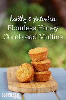 Flourless Honey Cornbread Muffins Recipe