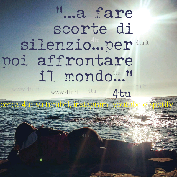spesso silenzio frasi on tumbrl instagram, aforismi sul silenzio belli  BI95