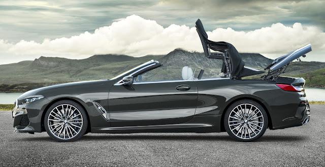 BMW 8シリーズ・カブリオレ ソフトトップ開閉