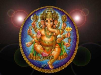 Hindu God endanta ganesh pic
