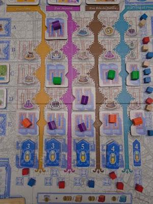 Lisboa Boardgame Streets and Shops