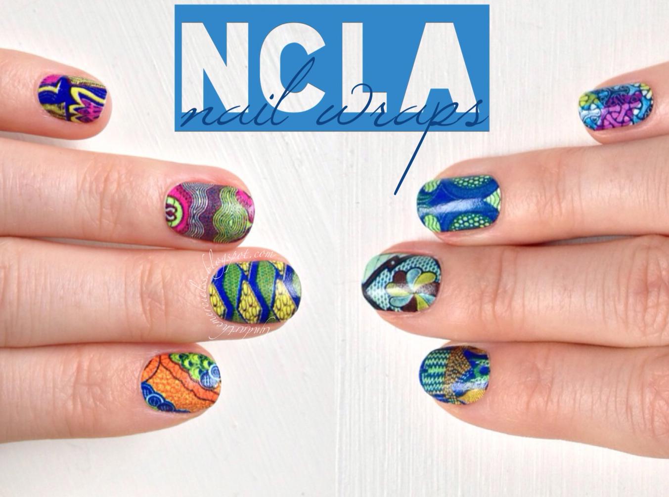 Lyndar the Merciless: Pretty in Print: NCLA Nail Wraps review