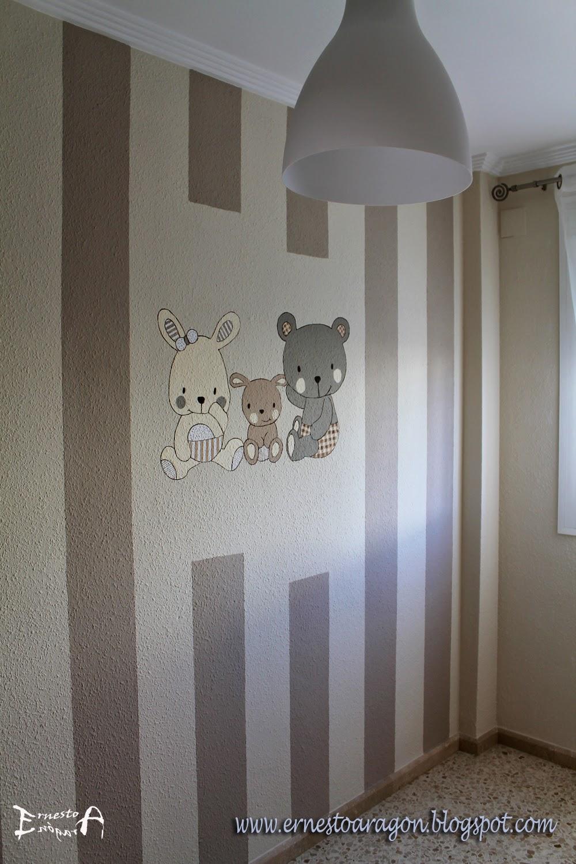 Pintar Habitacin Infantil Affordable Qu Os Parce Este Papel  ~ Pintura Para Habitaciones Infantiles