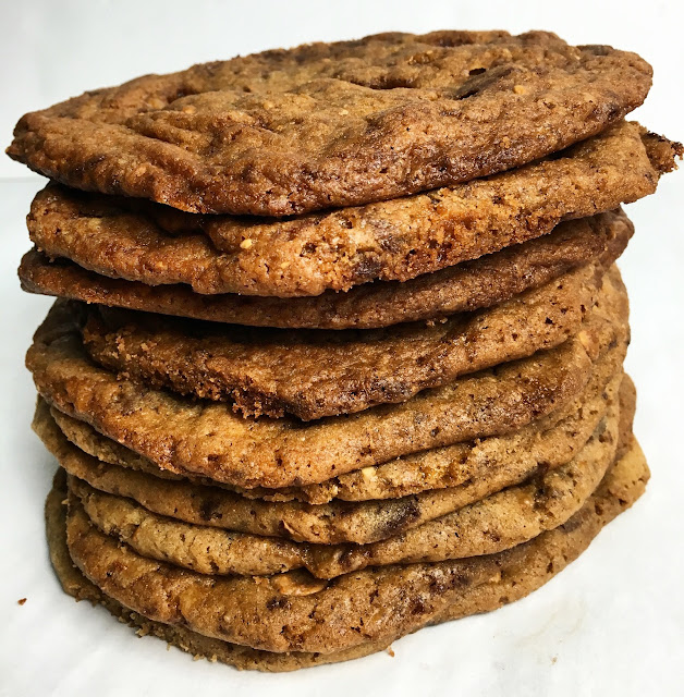 Stack of Butter Toffee Cookies