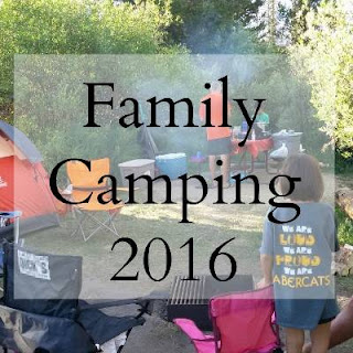 Family Camping, Over The Apple Tree