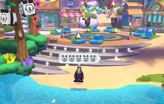 Mes de la Tierra a Club Penguin Island