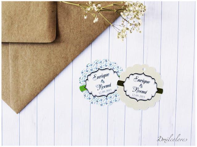 etiquetas personalizadas para boda