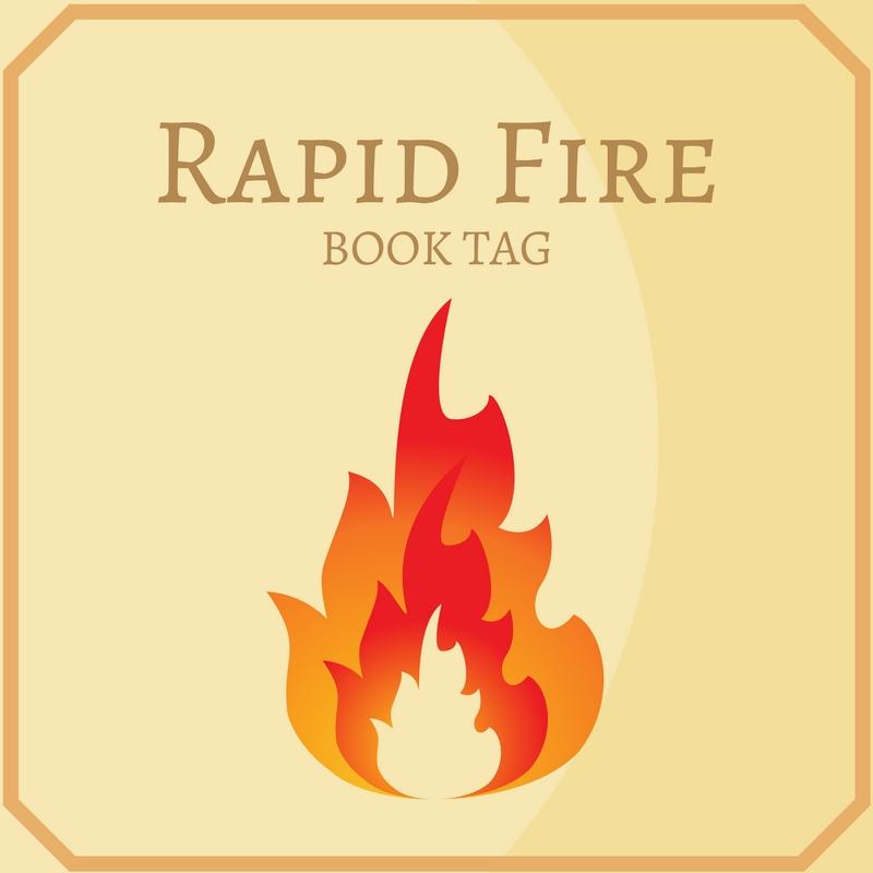 Rapid Fire Book Tag książka nawyki czytelnicze
