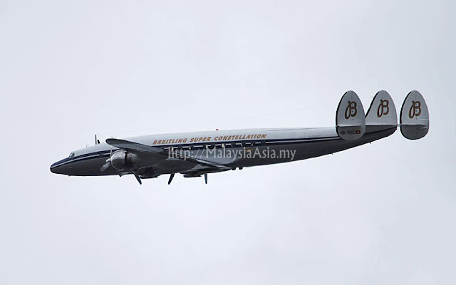 Classic Breitling Super Constellation Aircraft