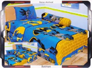 sprei internal motif Batman