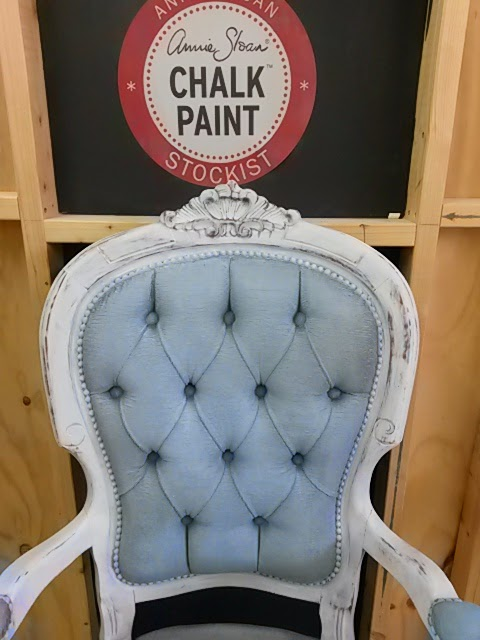 Painting Fabric Velvet With Annie Sloan Chalk Paint