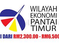 Majlis Pembangunan Wilayah Ekonomi Pantai Timur ECERDC - Gaji RM2,300 - RM6,500
