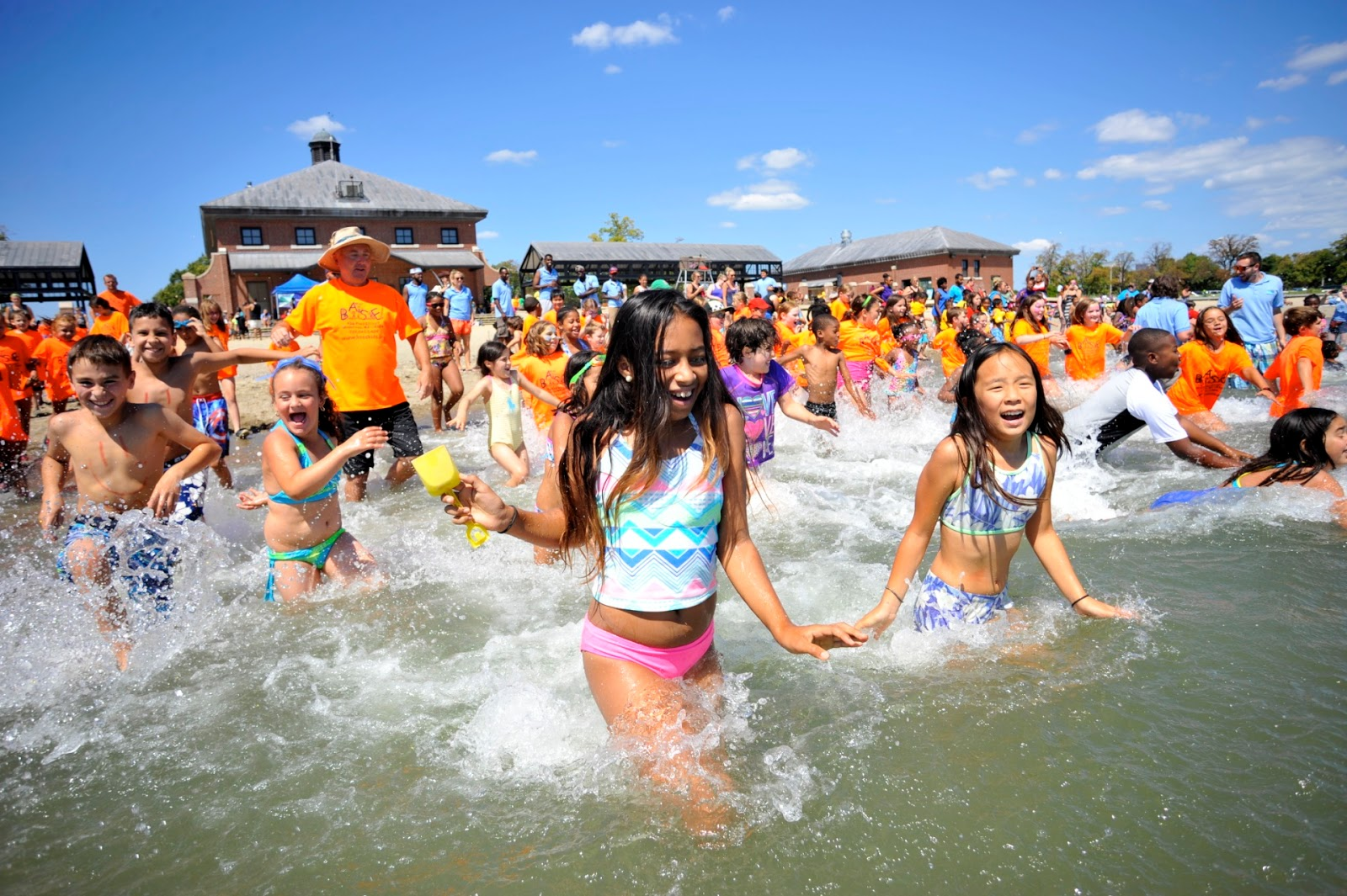 bf176a6b88 More than 600 kids took part in the Kids Beach Bash & Splash at DCR's  Carson Beach in South Boston in 2015. This year's Better Beaches Program  Grants will