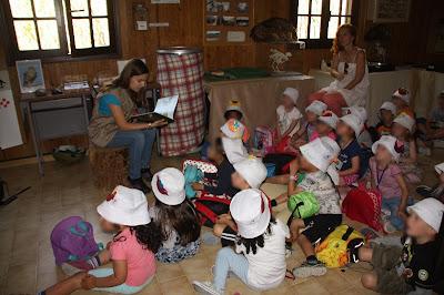Hora do Conto com turma de pré-escolar da Vila do Bispo