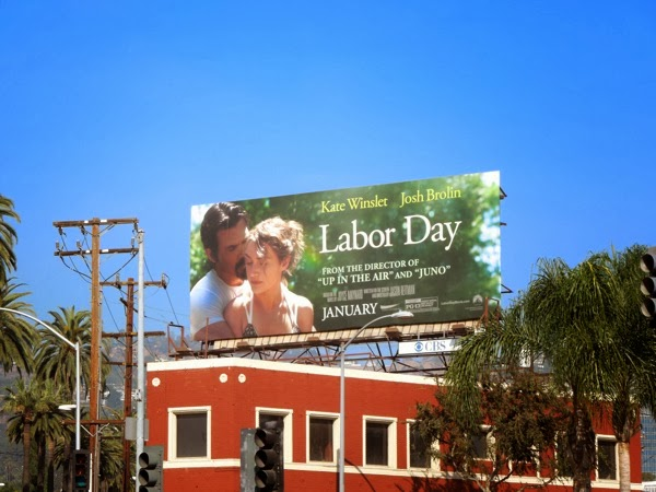 Labor Day film billboard
