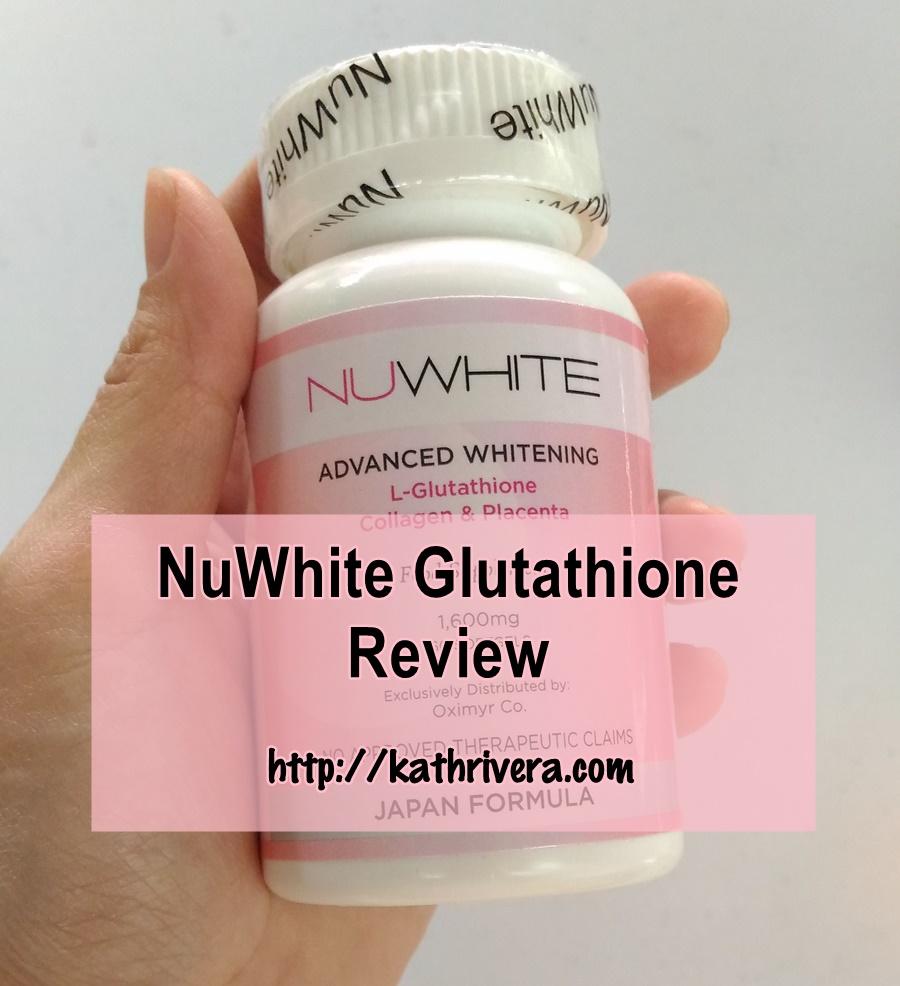 Product Review Nuwhite Glutathione Dear Kitty Kittie Kath Top White C Vit Collagen Nu