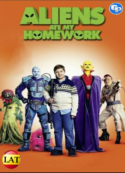 Aliens Ate My Homework (2018) LATINO