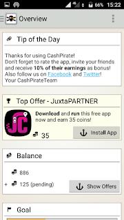 Cashpirate make money using mobile